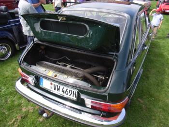 Motorraum VW 411